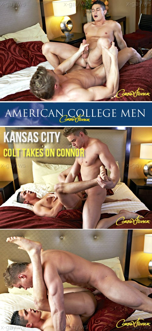 CorbinFisher – Kansas City, Colt Takes On Connor, Bareback