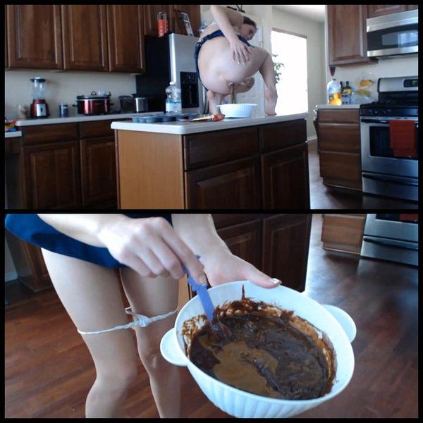 Baking Poo-licious Brownies