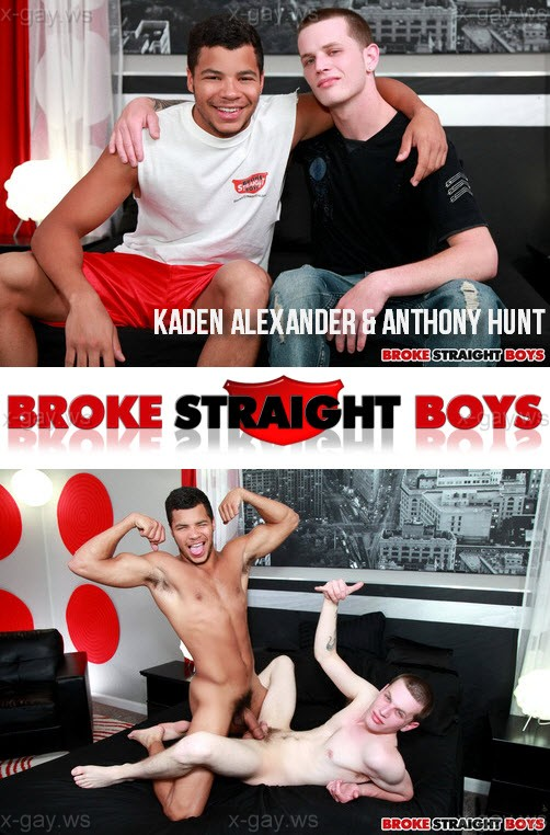 BrokeStraightBoys – Kaden Alexander & Anthony Hunt, Bareback