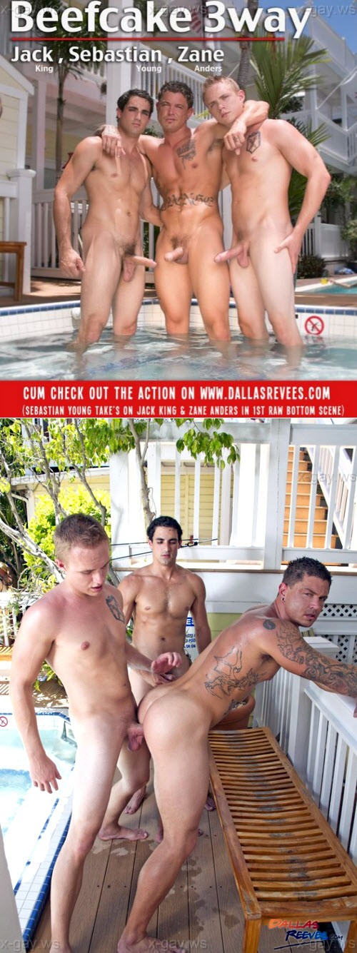 DallasReeves – Sebastian Young, Jack King & Zane Anders, Bareback