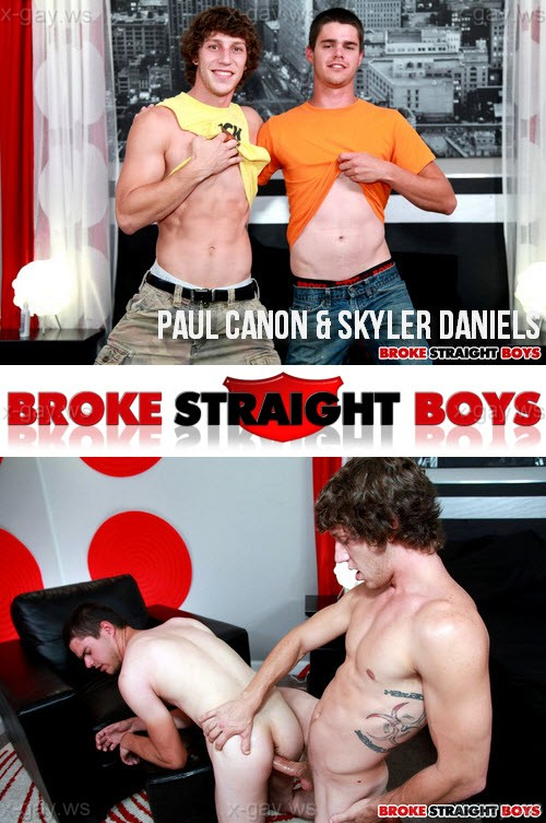 BrokeStraightBoys – Paul Canon & Skyler Daniels, Bareback