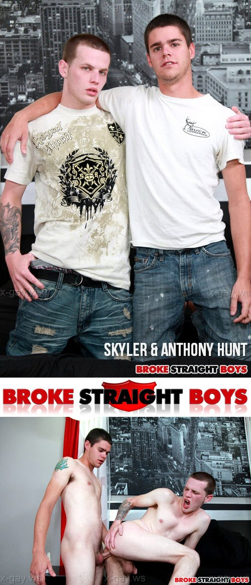 BrokeStraightBoys – Skyler & Anthony Hunt, Bareback