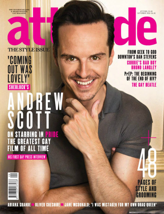 Attitude Magazine – September 2014 (Issue # 248)