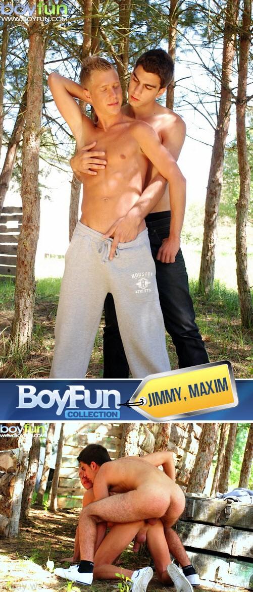 BoyFun – Jimmy & Maxim, Bareback
