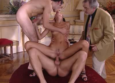 Anal Casting with old grandfather and a young cock!