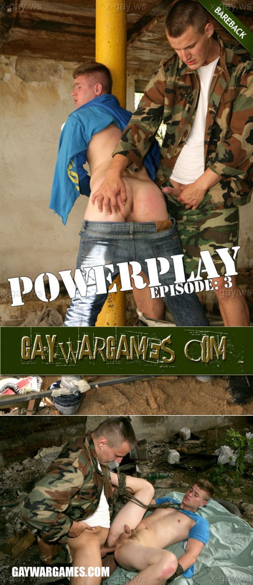 GayWarGames – Powerplay, Episode 3: Resah & Derek, Bareback