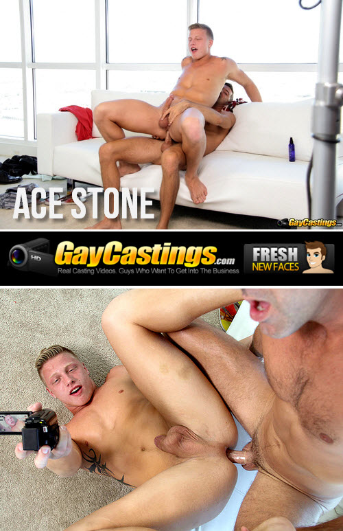 GayCastings – Ace Stone
