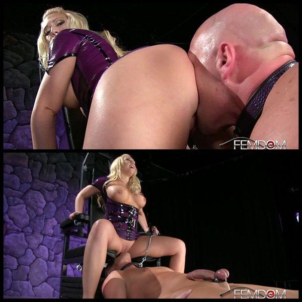 (05.10.2014) Queening her slave