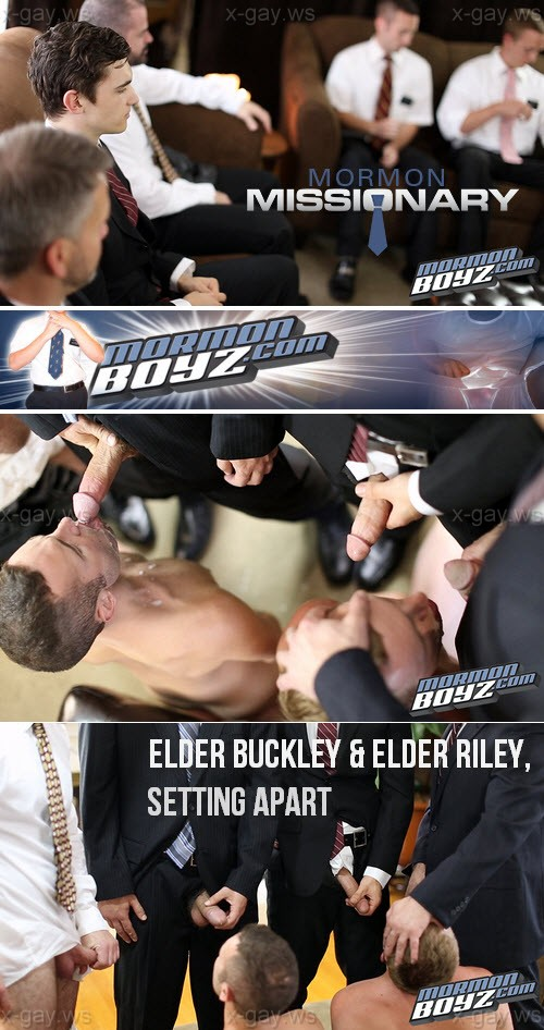 MormonBoyz – Elder Buckley & Elder Riley, Setting Apart
