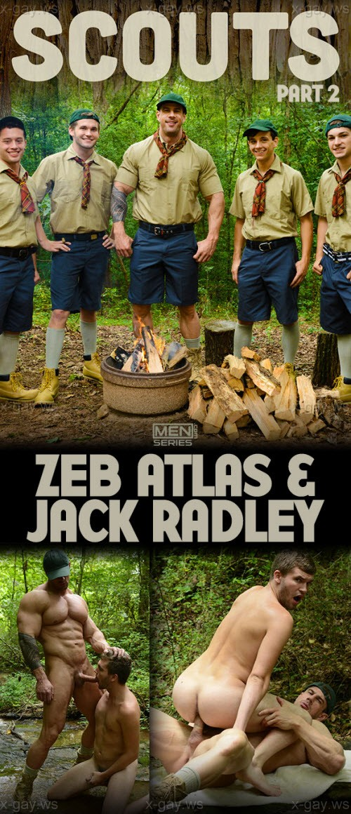MEN – Big Dicks At School – Scouts, Part 2: Jack Radley & Zeb Atlas