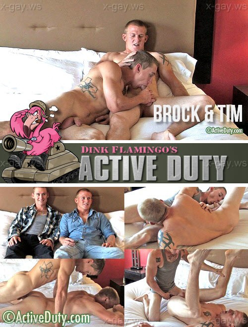 ActiveDuty – Brock & Tim, Bareback
