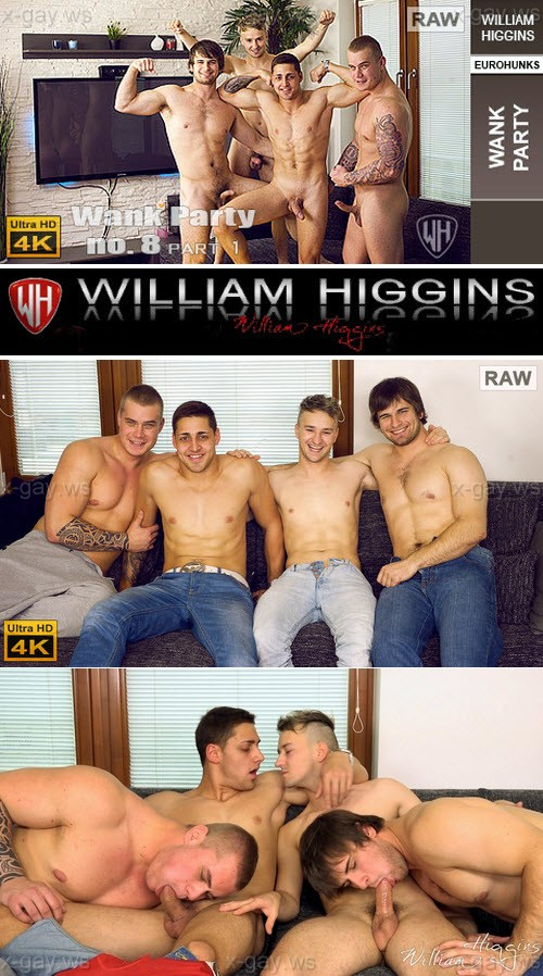 WilliamHiggins – Wank Party 2014 #8 – Part 1, RAW