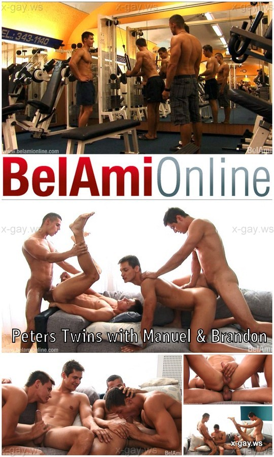 BelAmiOnline – Peters Twins with Manuel & Brandon – Original Programming