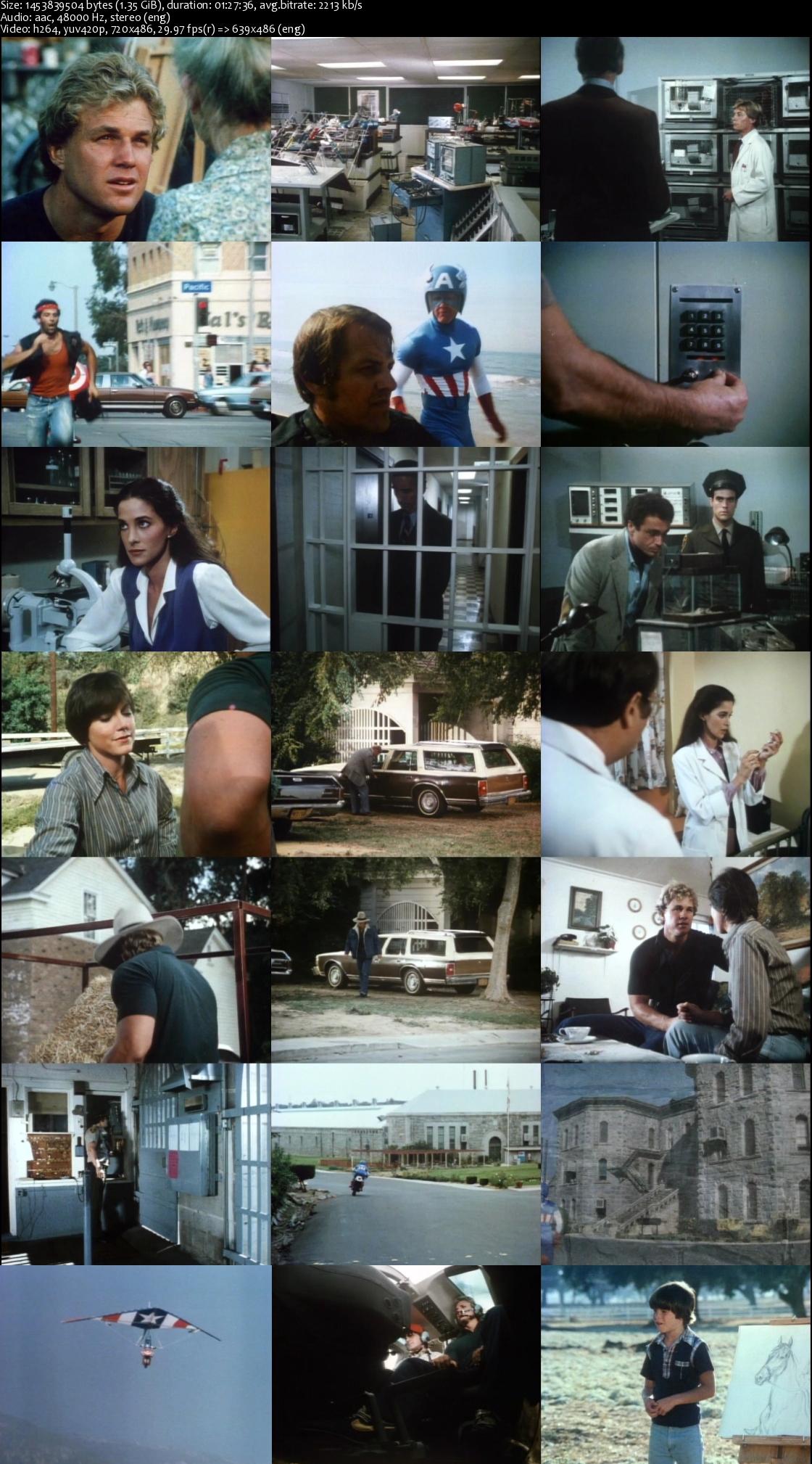 Captain America II: Death Too Soon (1979) Dvdrip [1.35GB]