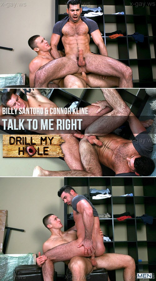 MEN – Drill My Hole – Talk To Me Right: Billy Santoro & Connor Kline