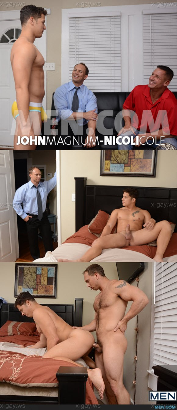MEN – Drill My Hole – Turn My Son Into A Whore, Part 2: John Magnum & Nicoli Cole