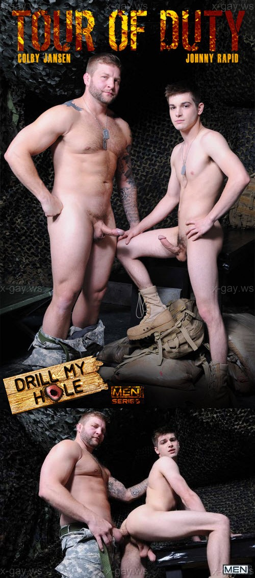 MEN – Drill My Hole – Tour Of Duty, Part 4: Colby Jansen & Johnny Rapid