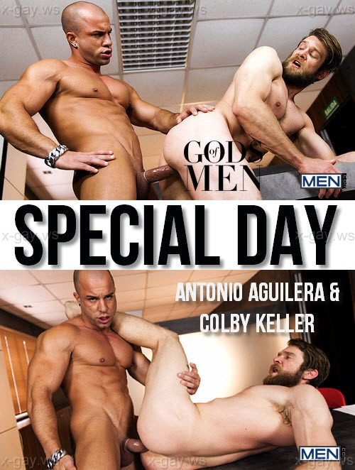 MEN – Gods Of Men – Special Day: Antonio Aguilera & Colby Keller
