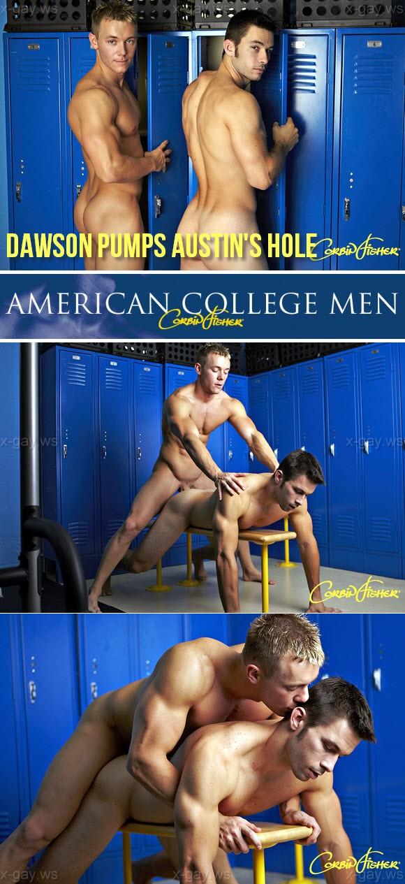 CorbinFisher – Dawson Pumps Austin's Hole, Bareback