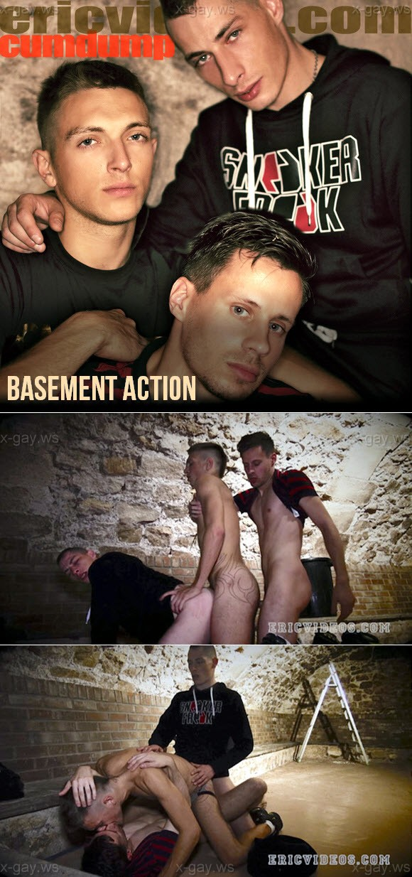 EricVideos – Basement Action, Bareback