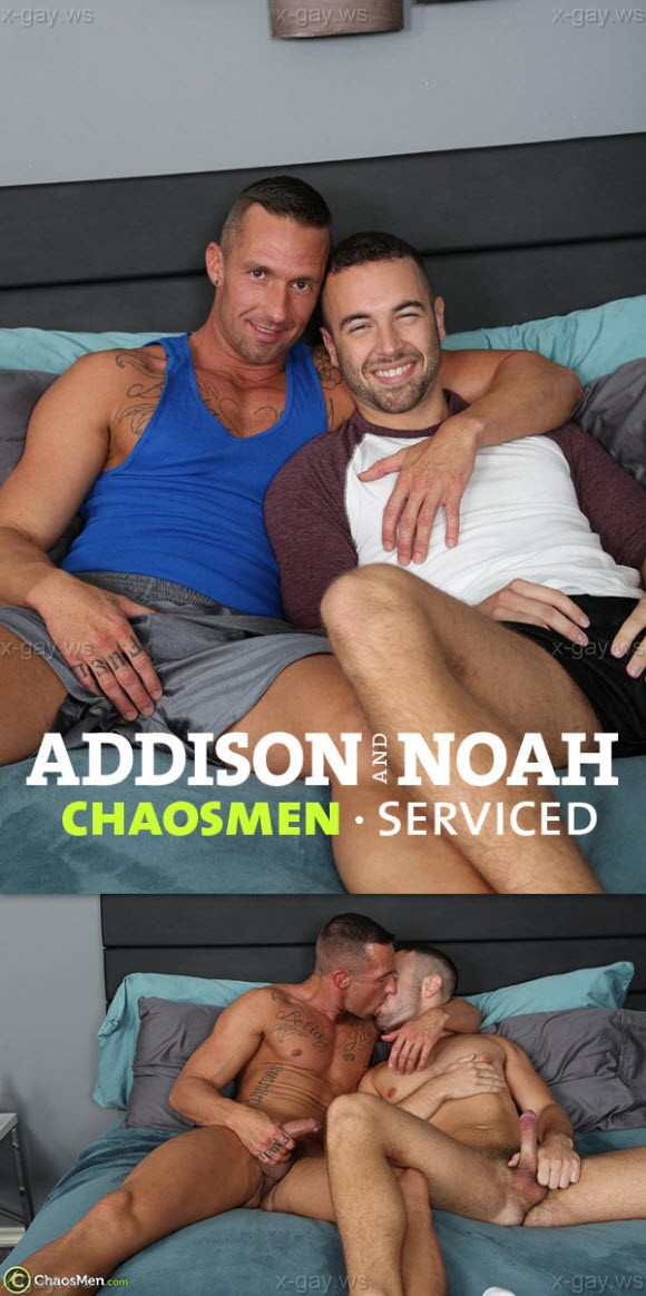ChaosMen – Addison & Noah Riley: Serviced