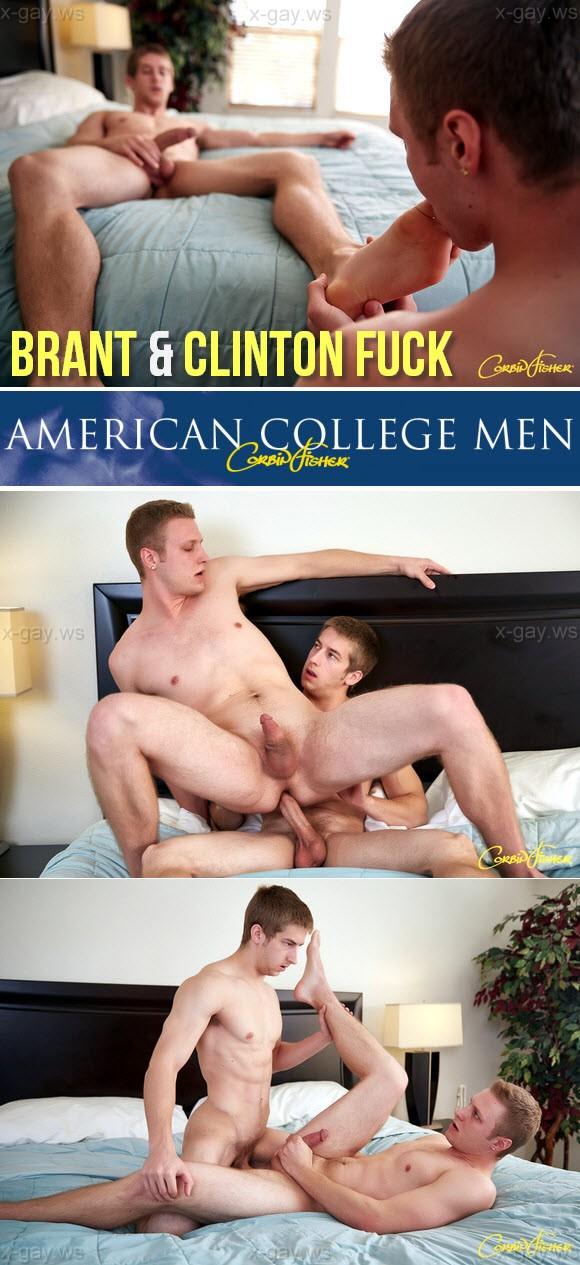 CorbinFisher – Brant & Clinton Fuck, Bareback