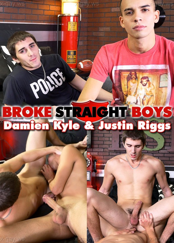 BrokeStraightBoys – Justin Riggs & Damien Kyle, Bareback