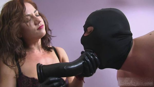 new 15.05.2015 Violating a Slave`s Mouth and Ass with June!