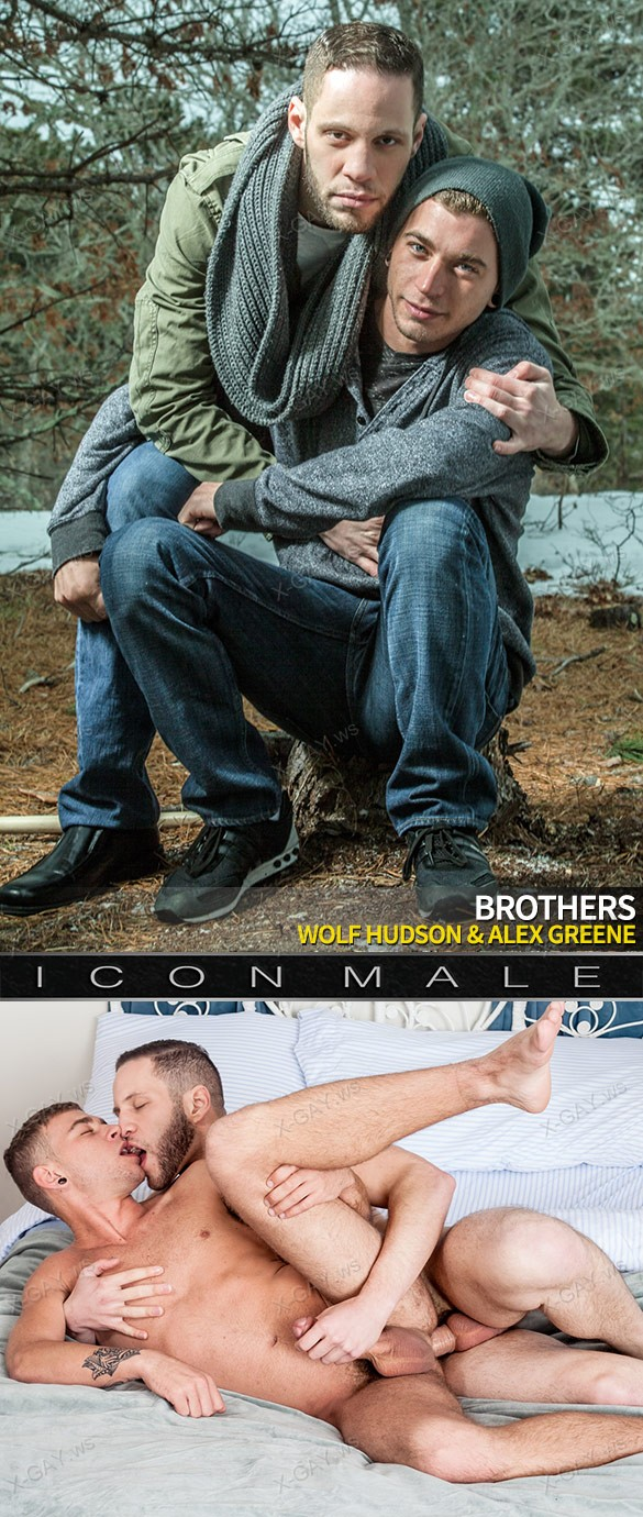 IconMale – Alex Greene & Wolf Hudson in Brothers, Scene #01