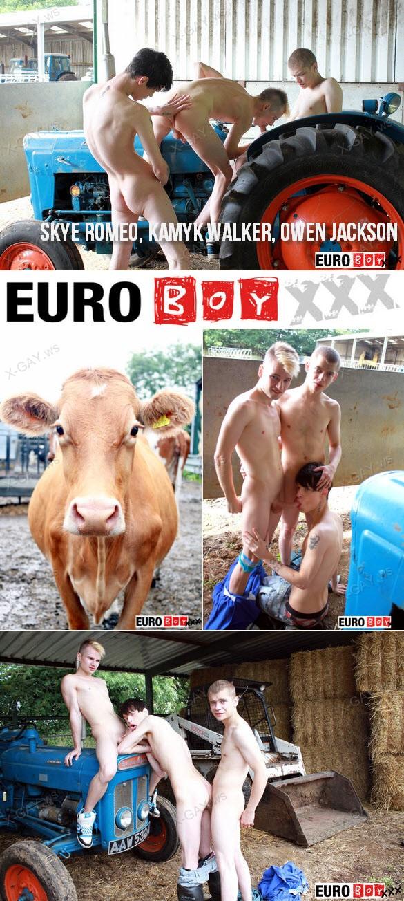 EuroBoyXXX – Skye Romeo, Kamyk Walker & Owen Jackson
