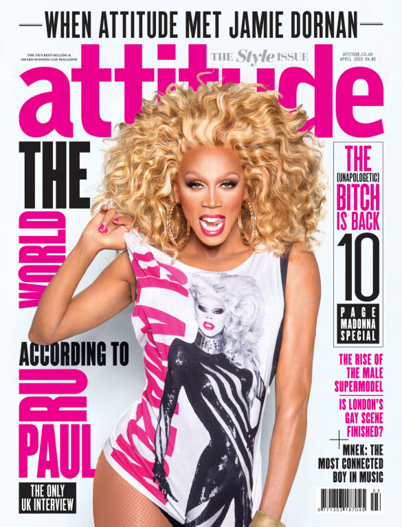 Attitude Magazine, Issue #255 (April 2015)