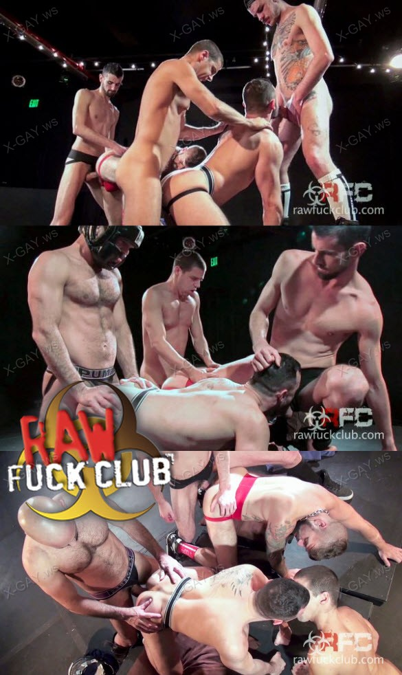 RawFuckClub: Big Group (Jon Shield, Rob Skelton, Tommy Deluca, Luke Harding, Jake Steel, Champ Robinson, Adam Russo)