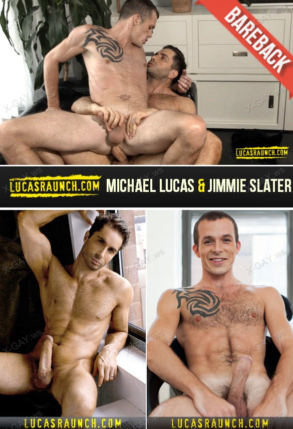 LucasRaunch: Bareback Fucking And Water Sports (Michael Lucas & Jimmie Slater) (Barebacks)