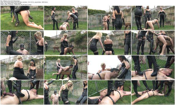 TheEnglishMansion - Lady Nina, Fetish Liza, Mistress Sidonia - Ground, Pound Pony