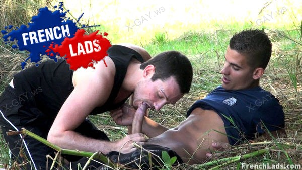 FrenchLads: Kamel Crunch Goes Country For Farmyard Fuck (Kamel Crunch, Jimmy le Breton)