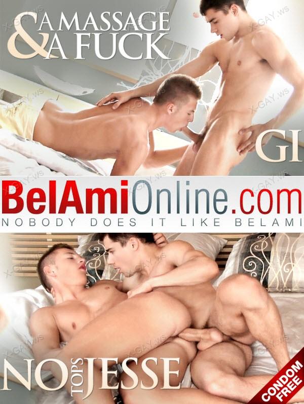 BelAmiOnline: Gino Mosca, Jesse Tobey (Bareback)