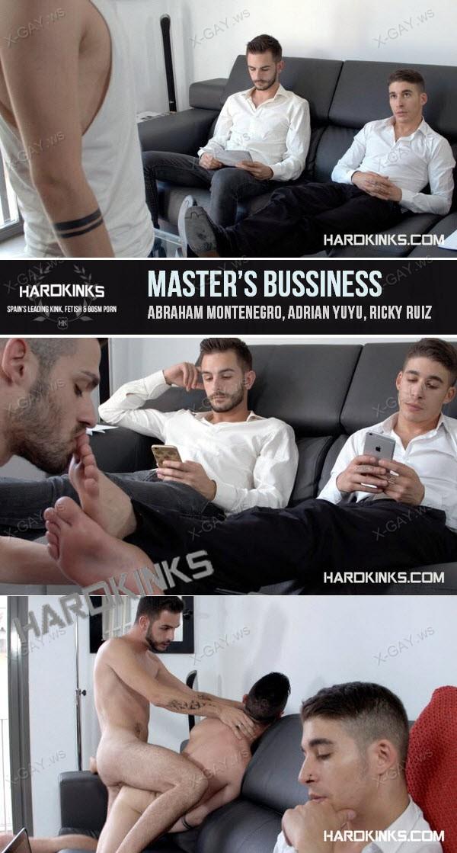 HardKinks: Master's Bussiness (Abraham Montenegro, Adrian Yuyu, Ricky Ruiz)
