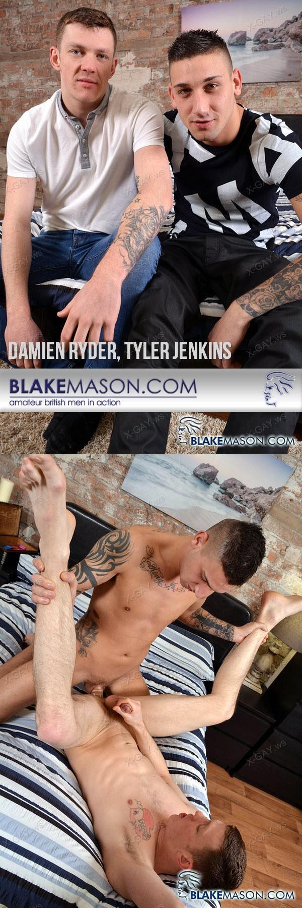 BlakeMason: Bi Guy Tyler Slams That Arse (Damien Ryder, Tyler Jenkins)