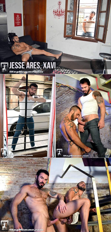 StagHomme: Jesse Ares, Xavi
