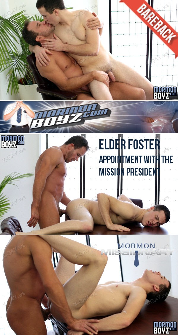 MormonBoyz: Elder Foster (Appointment With The Mission President) (Bareback)
