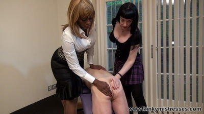 Kinky Mistresses - Whipping And Caning Goddess Cleo, Mistress Ava Black