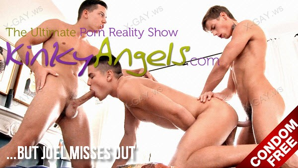 BelAmiOnline: Kinky Angels (…But Joel Misses Out) (Bareback)