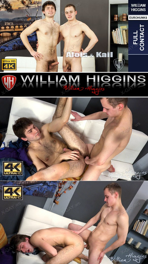 WilliamHiggins: Alois Tomas, Kail Kopec (Screen Test, FULL CONTACT) [4K Ultra HD]