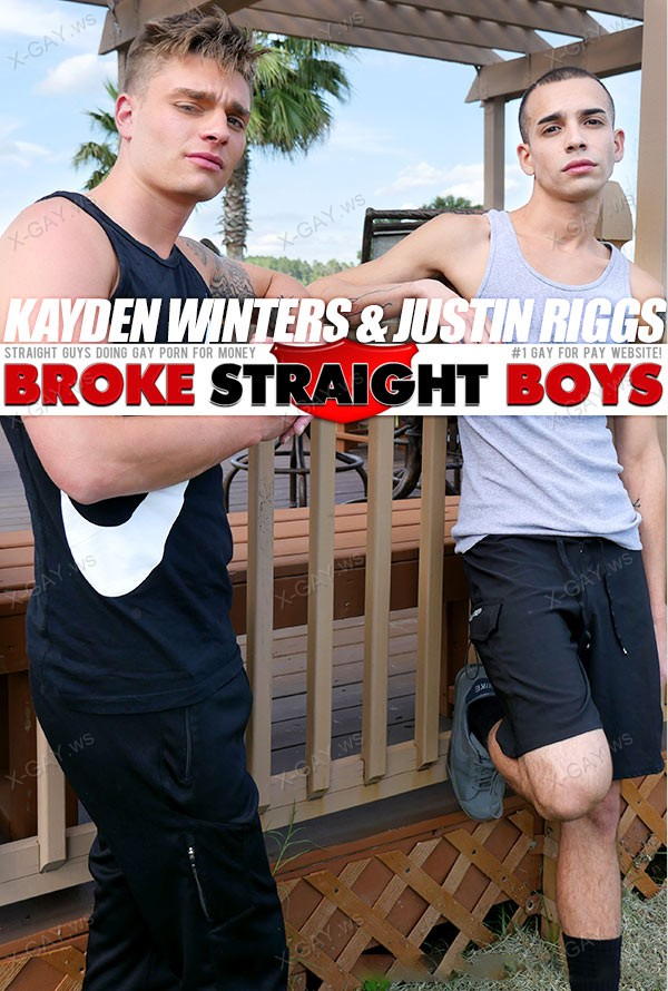 BrokeStraightBoys: Kayden Winters, Justin Riggs