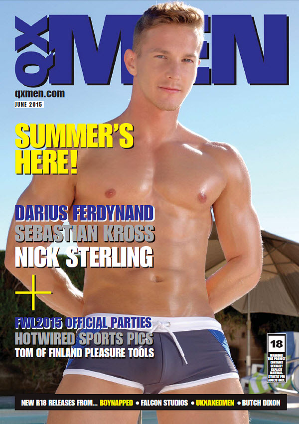 QX Men Magazine, Issue 107 (June, 2015)
