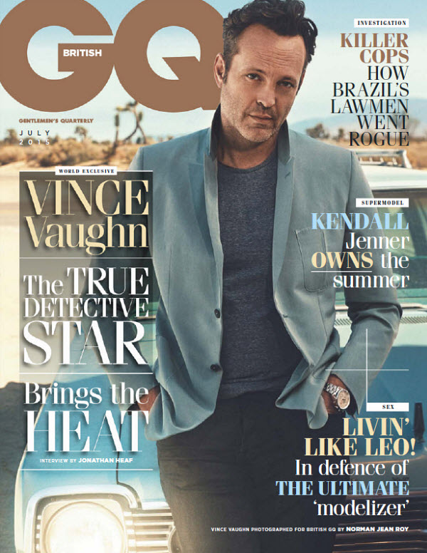GQ British Magazine (July, 2015)