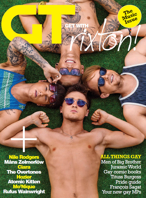Gay Times Magazine (UK) (July, 2015)