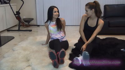 American Mean Girls - Yoga Class Foot Loser Princess Bella