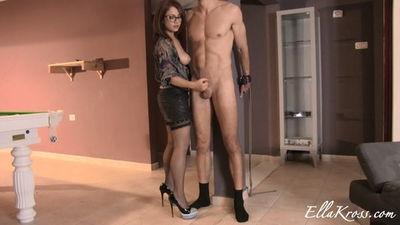 Ella Kross - Ruining His Orgasm... Twice!