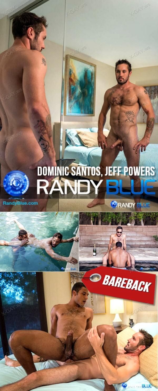 RandyBlue: Dominic Santos, Jeff Powers (Bareback)